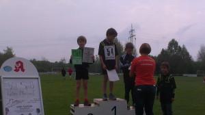 Fabian Beck wurde 2. und Kreismeister im Crosslauf